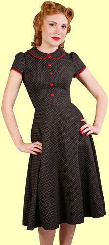 Stop Staring Polka Dotted Doll Dress | Daddyos.com