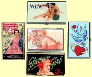 Card Cases I A Retro Clothes Site For Rockabilly & Swing!  :  cases storage 50s rockabilly